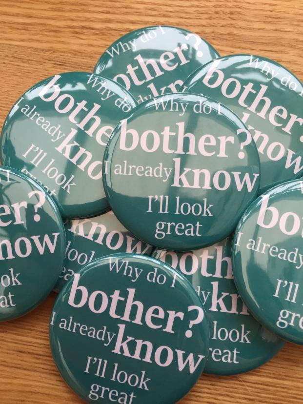 Why Do I Bother Feminist Pocket Mirror