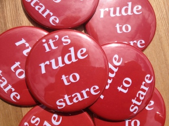 It's Rude to Stare pocket mirrors