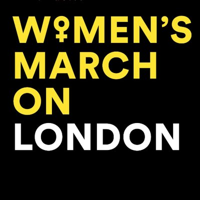 Women's March on London logo