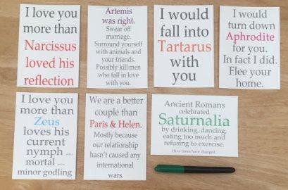 Greek mythology art prints Tartarus, Narcissus, Artemis, Aphrodite, Zeus, Paris & Helen, Saturnalia