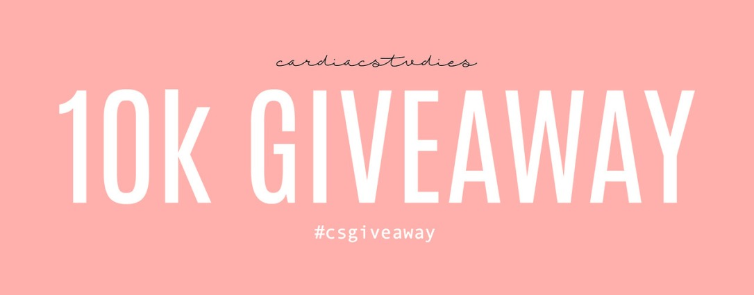 Cardiac Stvdies 10k Giveaway #csgiveaway