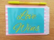 Love Wins LGBT print
