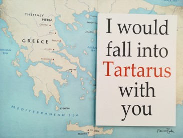 I Would Fall into Tartarus with You card